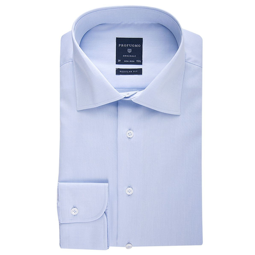 Profuomo Hemd - Normal Fit - Blau (1)